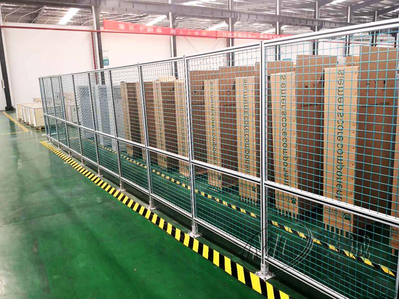 汽车生产线围栏